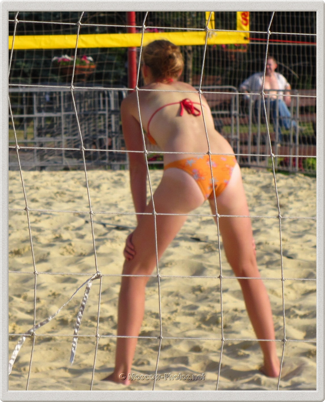 Beach Volleyball Girl in Moscow