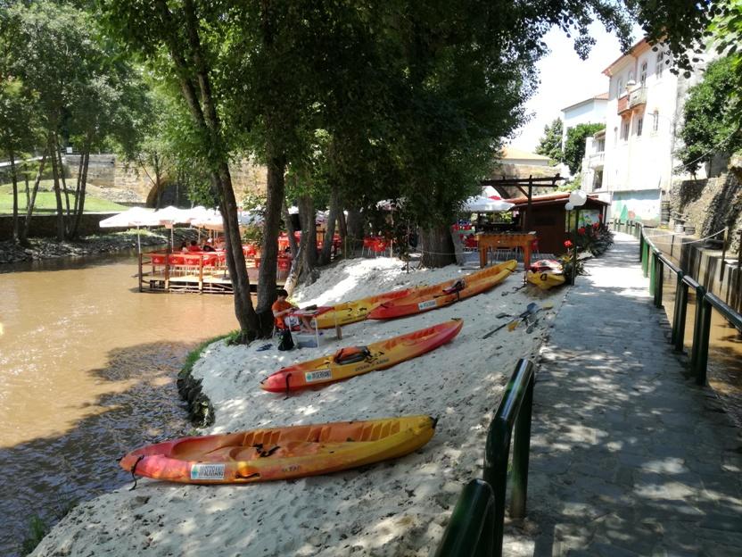 Aluguer de canoas