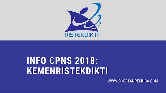 Pengumuman Hasi Tes CAT SKD CPNS Kemenristekdikti 2018 - Kementerian Riset, Teknologi, dan Pendidikan Tinggi