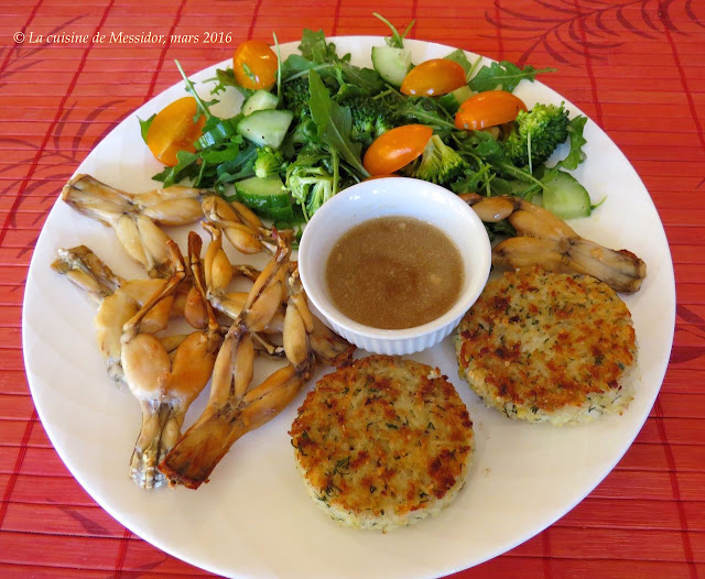 La cuisine de messidor cuisses de grenouille au four - Comment cuisiner des cuisses de grenouilles surgelees ...