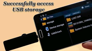 Cara Kerja USB OTG di Android File Manager