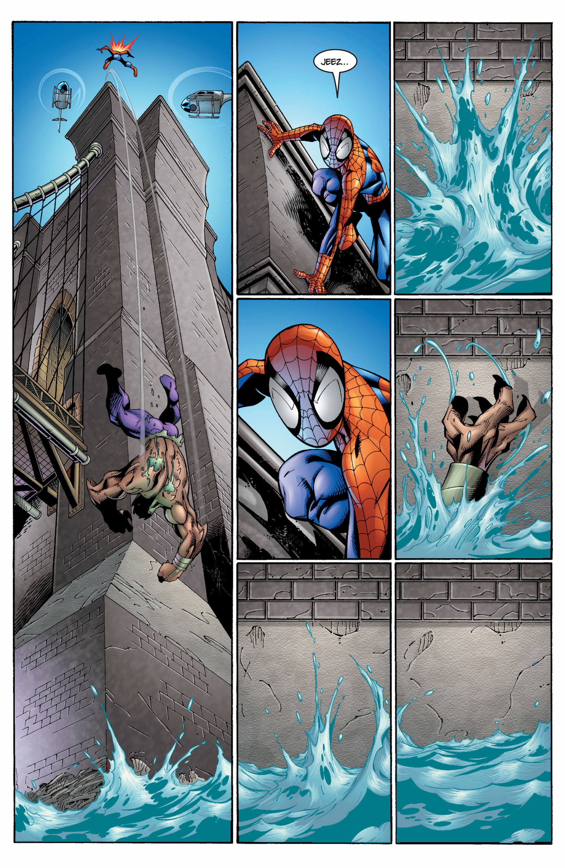 Read online Ultimate Spider-Man (2000) comic -  Issue #7 - 14