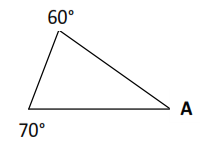 soal sudut segitiga kelas 3 semester 2