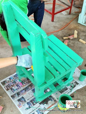 Fixing and Painting Chairs