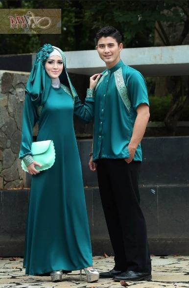 Gaun Pesta Muslim Couple Terbaru