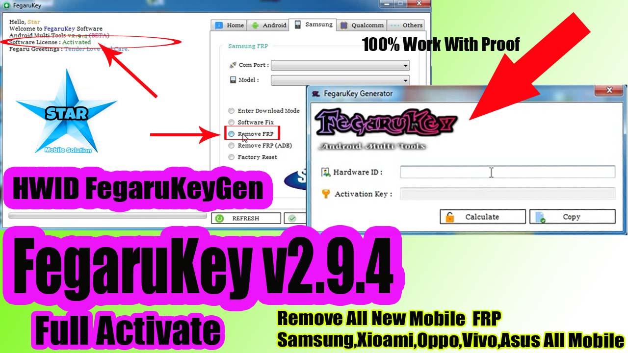 FegaruKey v2 9 4 Beta Crak With HWID FegaruKeyGen || Full