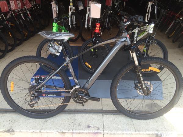 Sepeda MTB 275 Inch Thrill Vanquish 20 27speed Alivio Hidrolik Rp 2550000