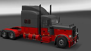 Hotrod Style skin for Peterbilt 389
