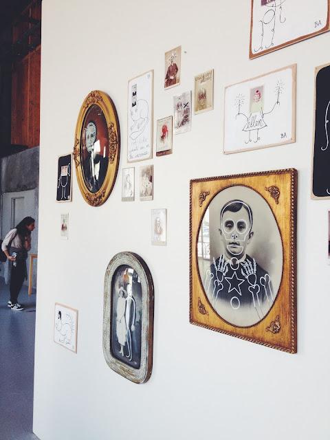 Boiler Room Art Gallery at Heath Ceramics in San Francisco