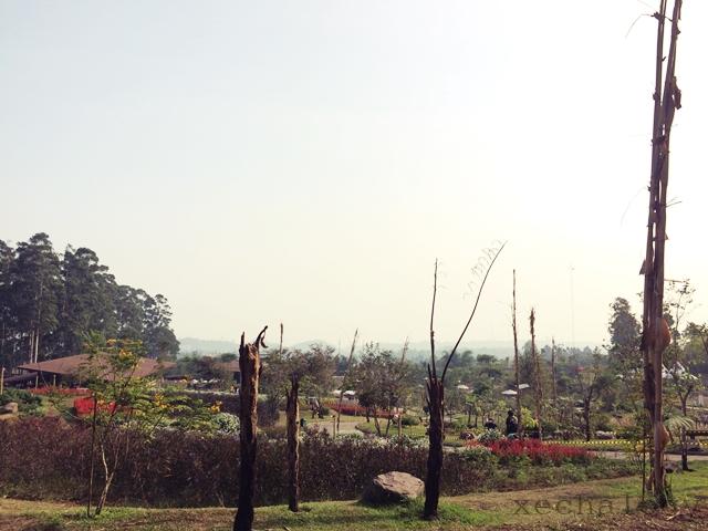 trip ke bandung, bajet trip, dusun bambu