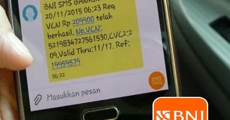 format sms banking bni baru