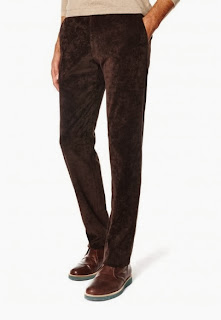 pantalon de pana marron adolfo dominguez