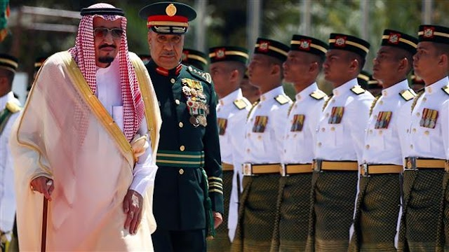 Saudi king begins month-long Asia tour amid economic woes