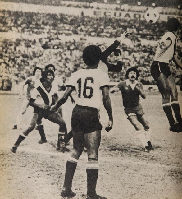 Ecuador y Chile en Clasificatorias a España 1982, 24 de mayo de 1981