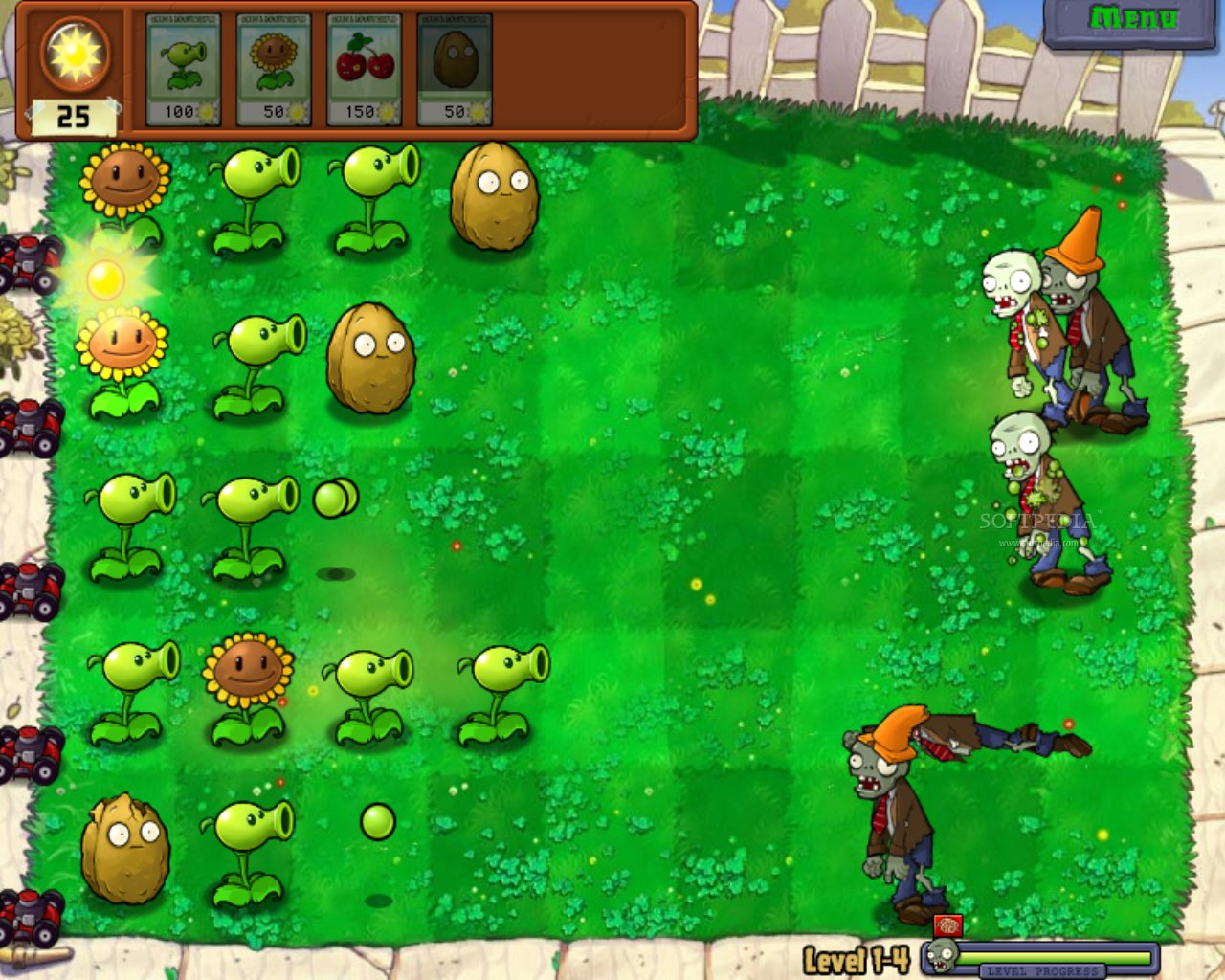 Plants vs Zombies v6.1.11 Apk Obb Data Full Version Download