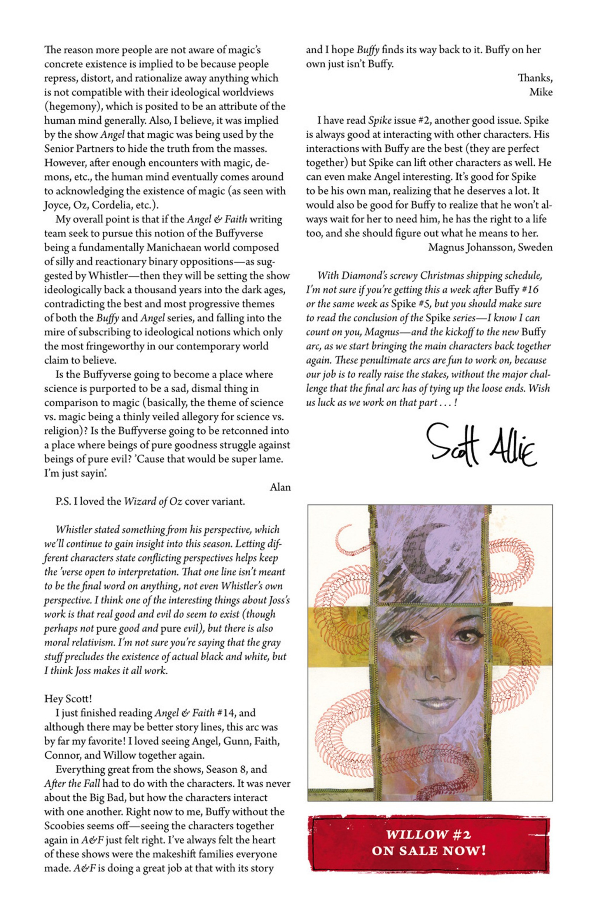 Read online Angel and Faith comic -  Issue #17 - 28