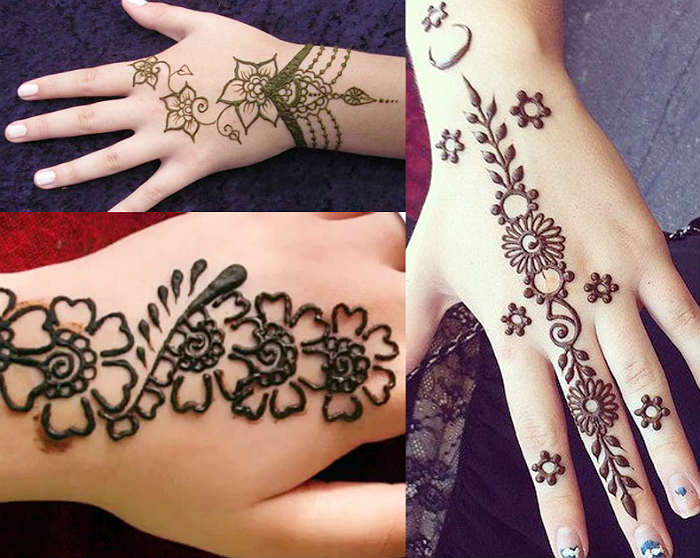 Mehndi Designs For Palm : Simple mehndi designs that are awesome super easy to try now