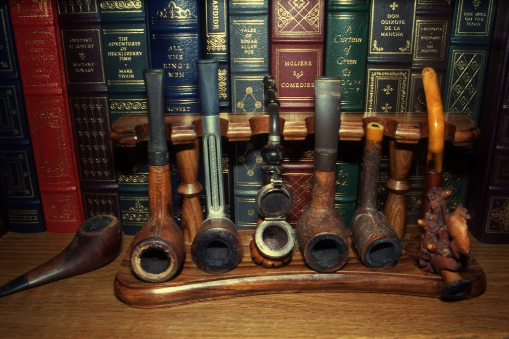 a4f55da32ac2 MARIETTE'S BACK TO BASICS: {Our 6 Vintage Tobacco Pipes and Cheroot ...