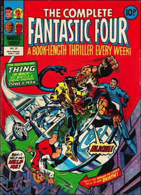 Complete Fantastic Four #37, Power-Man vs the Thing