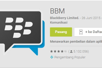 Official BBM Versi 2.9.0.44 Material Design For Android