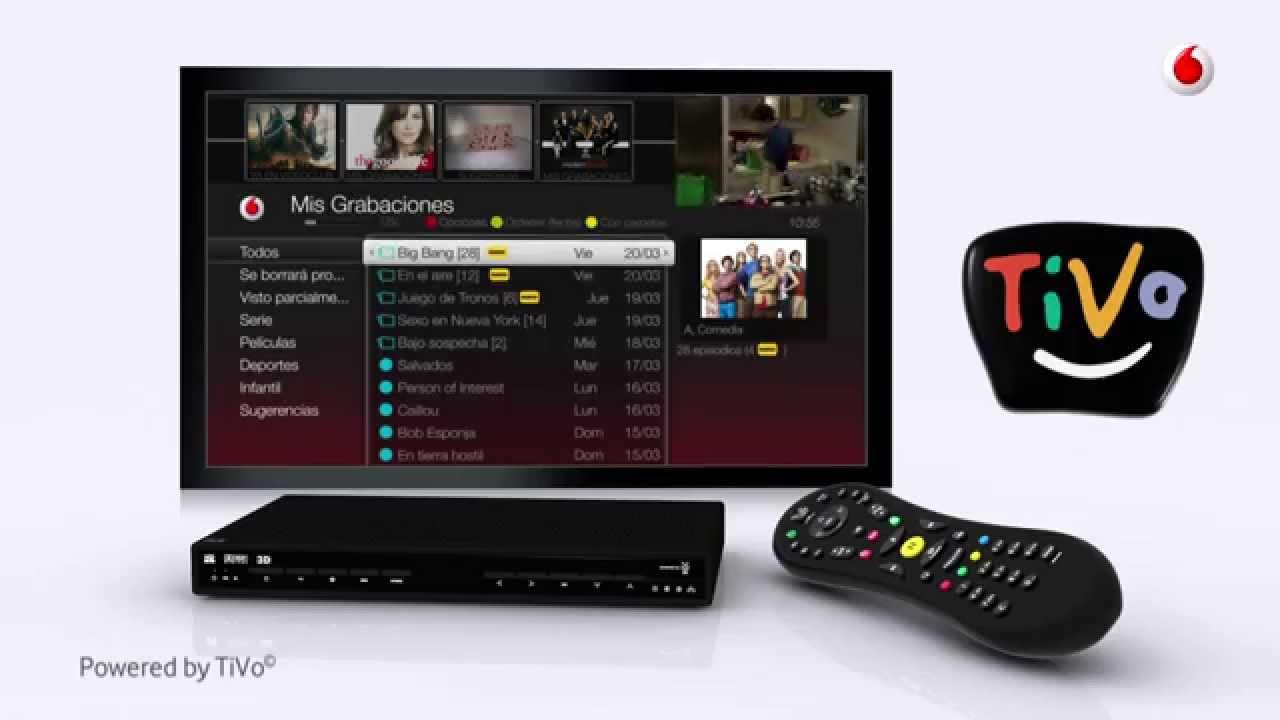 Vodafone incidencia TiVo