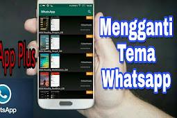 Cara Menggunakan Whatsapp Plus, Modifikasi Dari Whatsapp Biasa