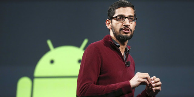 android operating system head sundar pichai, google android, sundar pichai