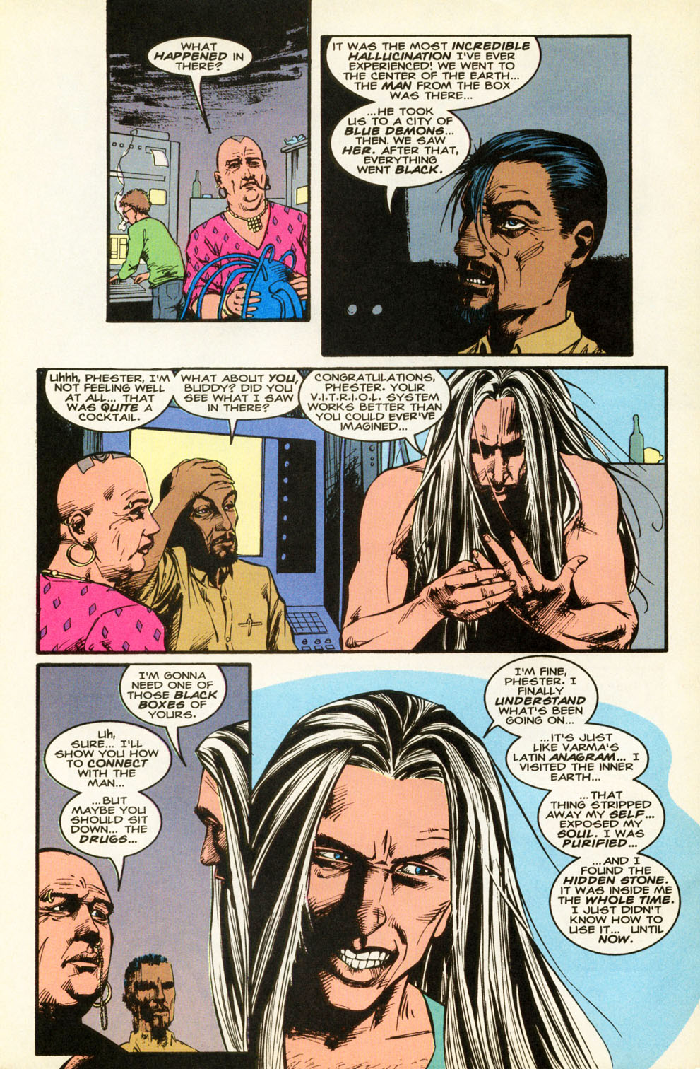 Read online Animal Man (1988) comic -  Issue #87 - 18
