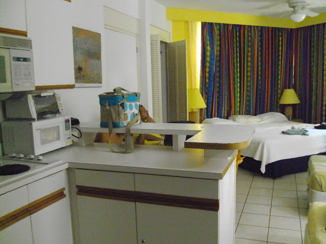Quarto-studio do Mill Resort- Aruba