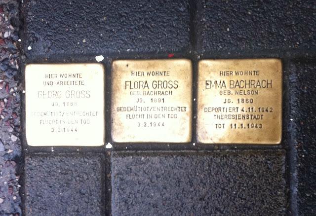 Curiosidades e mistérios de Berlim - Stolperstein