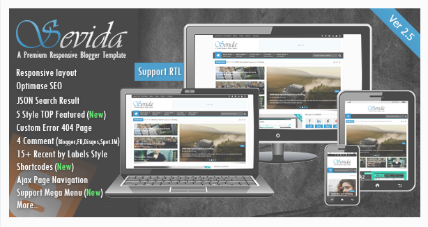 sevida-blogger-templates-free
