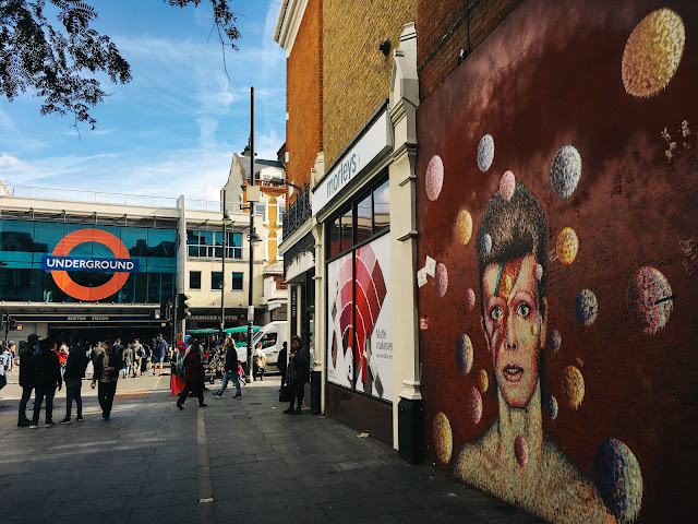 デヴィッド・ボウイの壁画(David Bowie Mural)