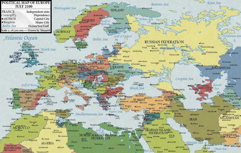 Online Terkepek Europa 2100 Ban