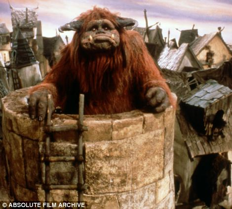 Wonderful Pictures Of People That Seem To Be Real, But They Are Not - He was behind Ludo the 'Gentle Giant' on the 1986 film Labyrinth.