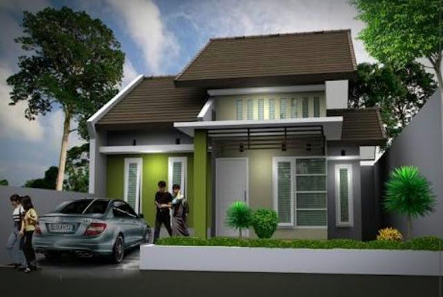 Bentuk Rumah Sederhana tapi Elegan dan Mewah, contoh rumah sederhana terbaru