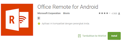 Aplikasi Remote Office Dari Android