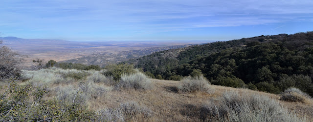 ridge lines and desert