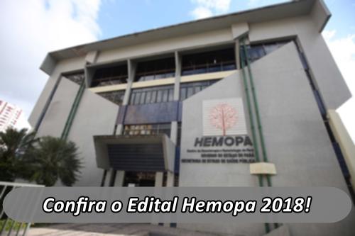 Edital Hemopa 2018