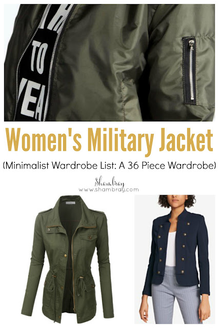 Sometimes adding a women's military jacket to your wardrobe can seem a little extreme, but you would be surprised with everything it goes with.