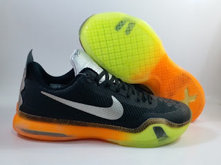 Nike Kobe 10 All Star Black Orange Green  Jual Sepatu Basket Replika Import Premium