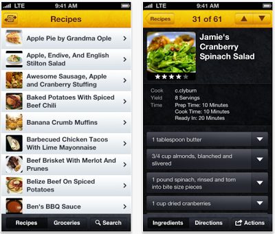 SousChef iPhone App