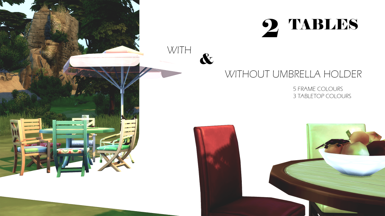 my sims 4 blog backyard stuff add on separated tables and