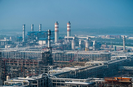 Gujarat Industrial Region oil refinery