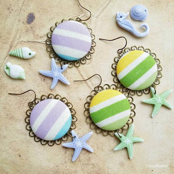 bijoux de plage marin - www.cocoflower.net
