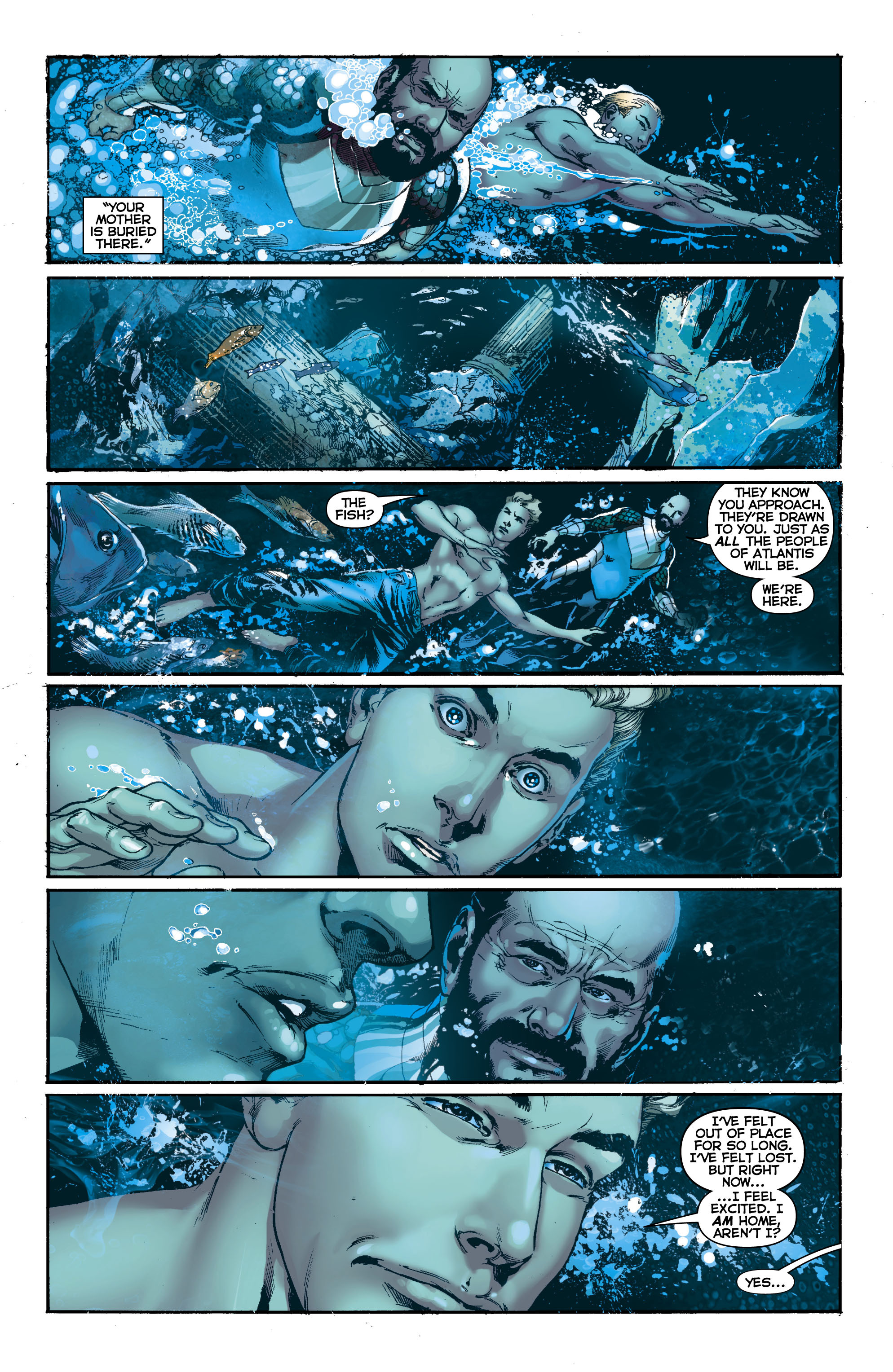 Read online Aquaman (2011) comic -  Issue #0 - 20
