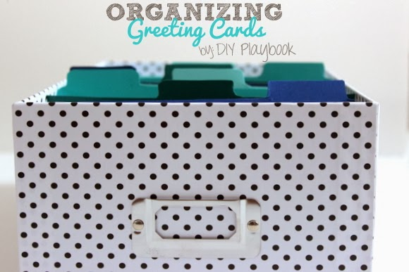 How to Organize your Greeting Cards