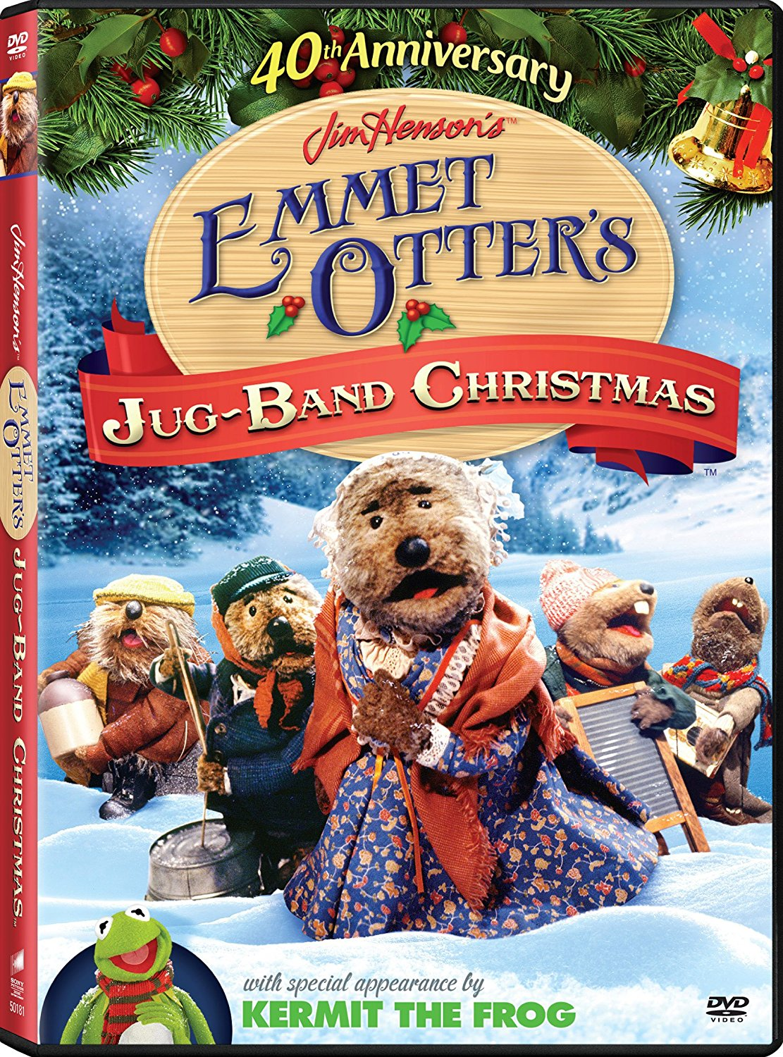 Muppet Stuff: Emmet Otter's Jug-Band Christmas 40th Anniversary DVD!
