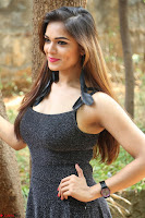 Aswini in lovely Deep Neck Sleeveless Black Dress Spicy Pics ~  Exclusive 47.JPG