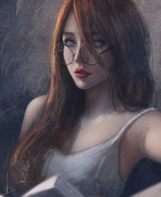 Trung Bui artstation deviantart ilustrações mulheres orientais beleza sensualidade