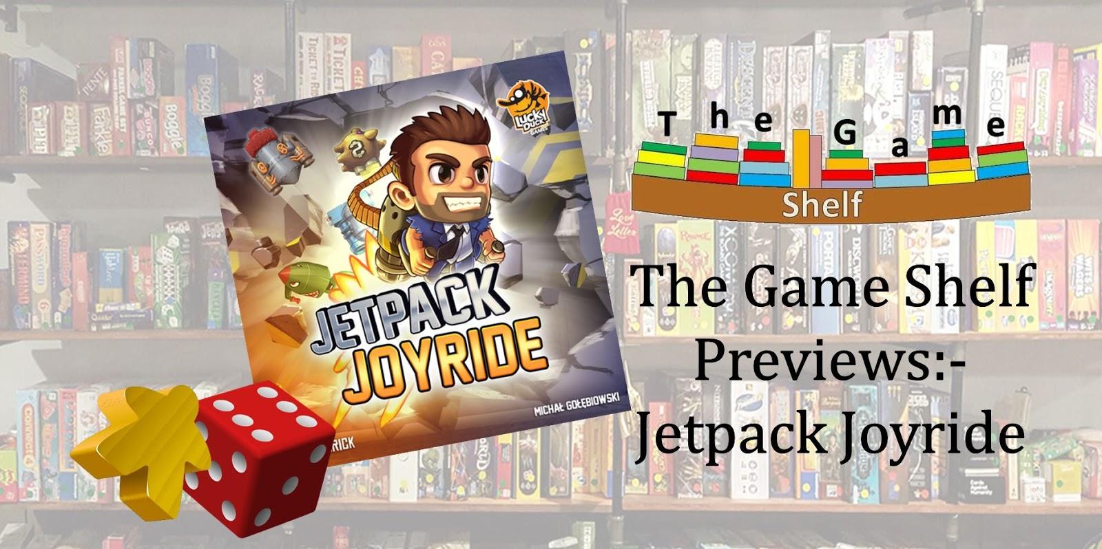 The Game Shelf Previews:- Jetpack Joyride - The Game Shelf ...